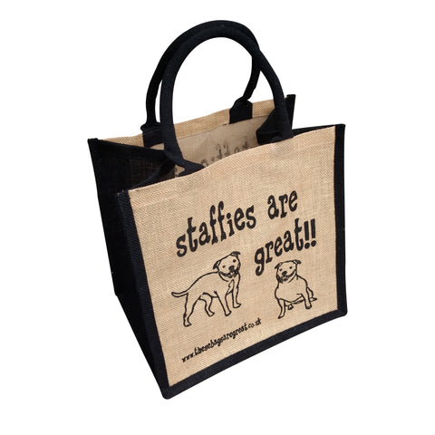 Staffies are Great Bag