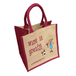 Wine is Great Bag