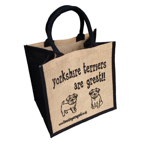 Yorkshire Terriers are Great Bag