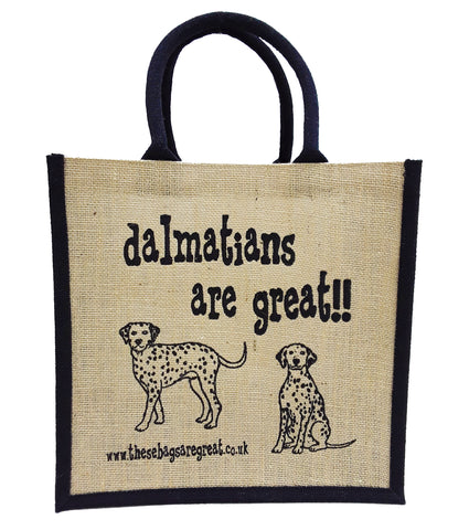 Dalmatians are Great Bag