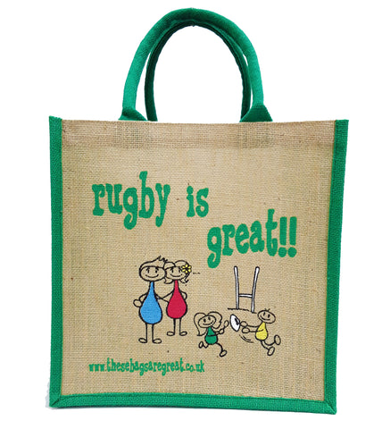 Rugby is Great Bag