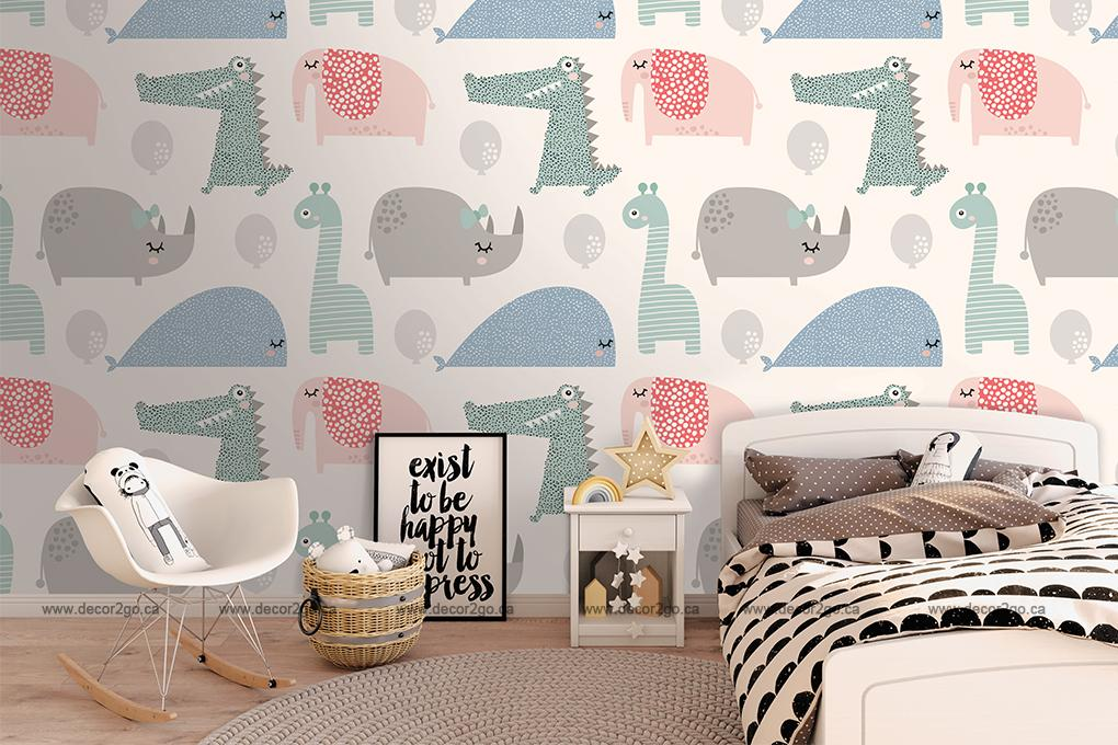 Pattern, Seamless, Mural, Wallpaper