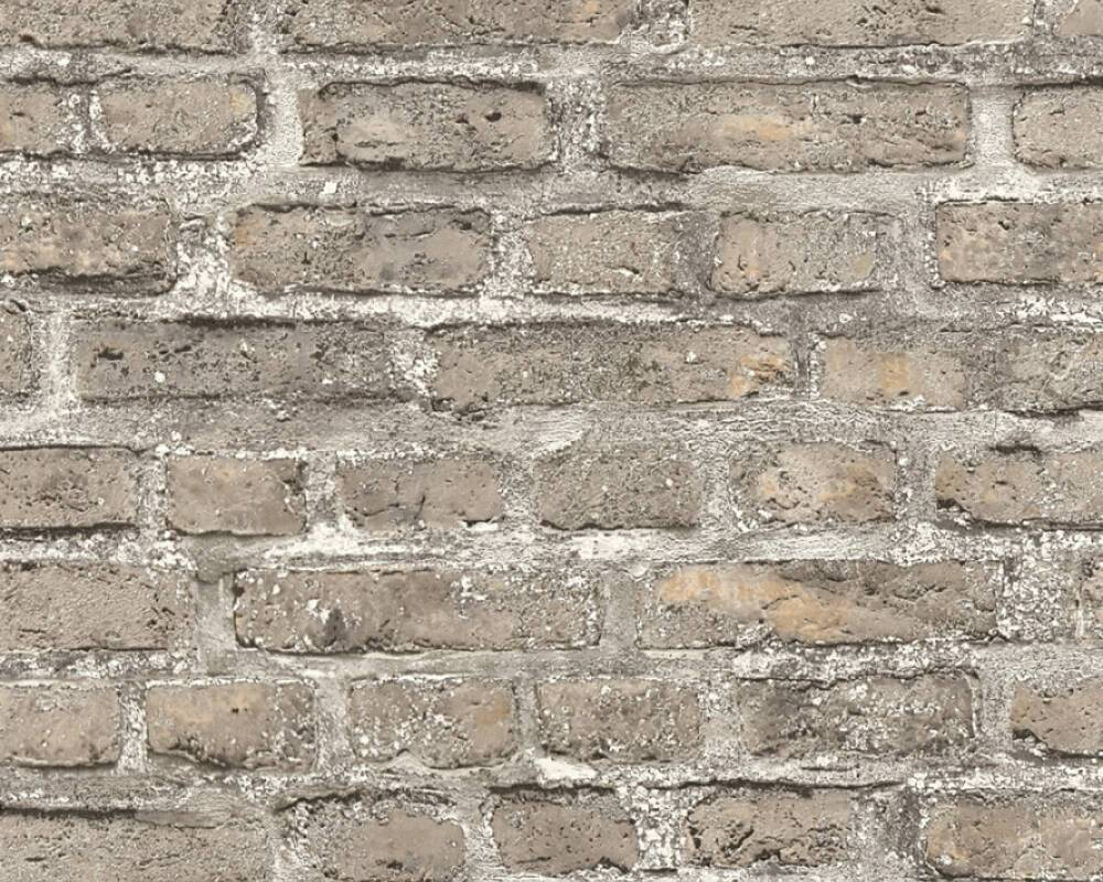 Wallpaper, stone, bricks, wallpaper,  36139-4, AS-CREATION