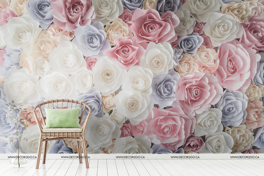 roses, pastel, decoration, wallpaper, design, inspiration, bouquet, pink, blue, purple, white