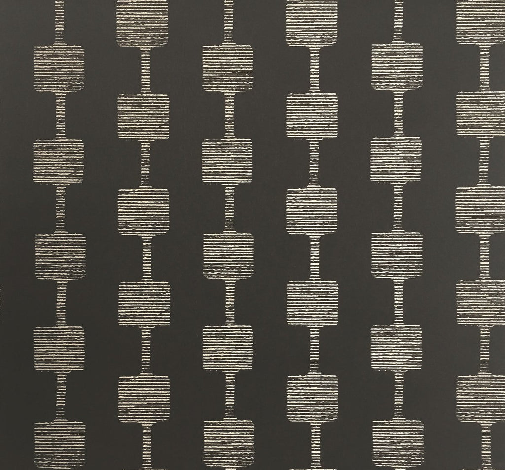 York Wallcoverings, York Wallpaper, Non Woven Wallpaper, Nonwoven Wallpaper, Removable Wallpaper, Easy Wallpaper, Wallcovering, Wall Covering, Mid Century, Mid Century Wallpaper ,Y6220403,Micro Mini Wallpaper - Black/Glint
