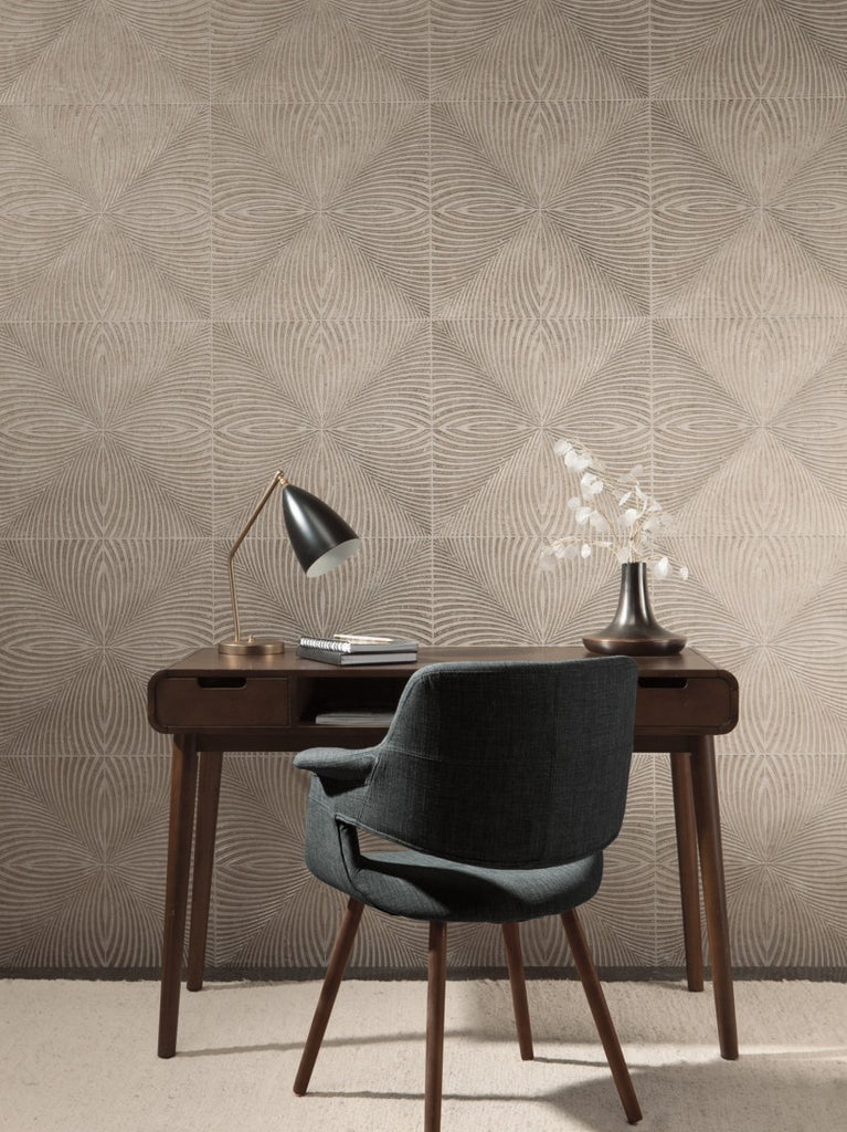 York Wallcoverings, York Wallpaper, Non Woven Wallpaper, Nonwoven Wallpaper, Removable Wallpaper, Easy Wallpaper, Wallcovering, Wall Covering, Mid Century, Mid Century Wallpaper ,Y6221303,Optic Wallpaper - Gold