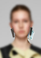 Money Clip Earrings