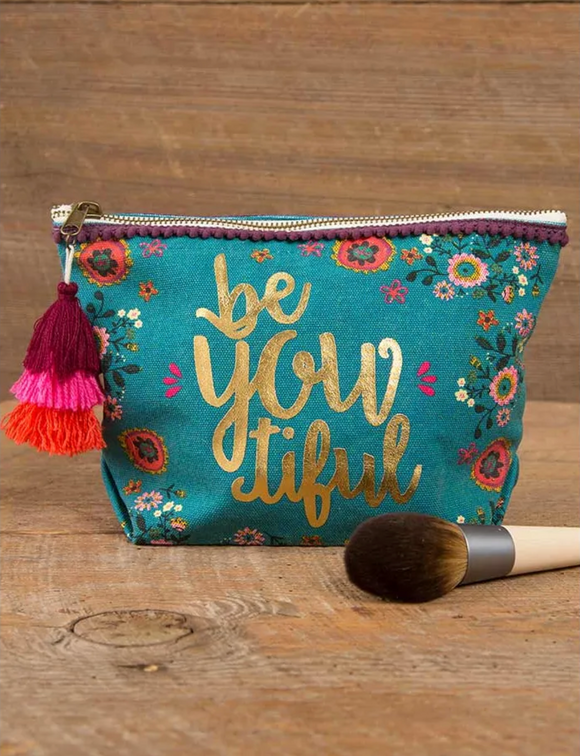 Be-you-tiful Canvas Pouch