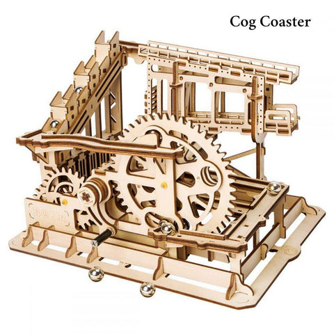 Marble Run Coaster | Anavrin ByAnavrin Cog Coaster Marble Run