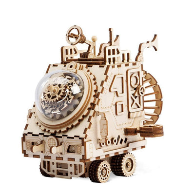Wayfarer Mechanical Space Vehicle Music Box | Anavrin ByAnavrin