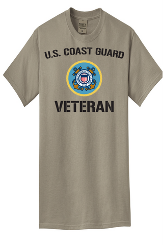 COAST GUARD VETERAN TEE