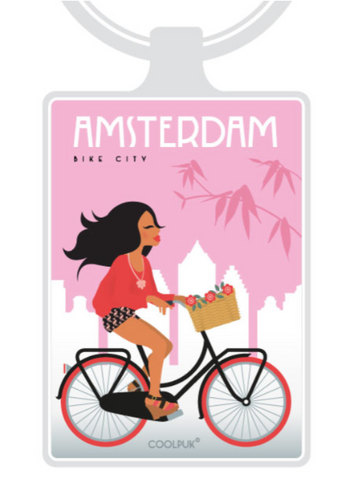 Keyhanger Amsterdam Bike Girl