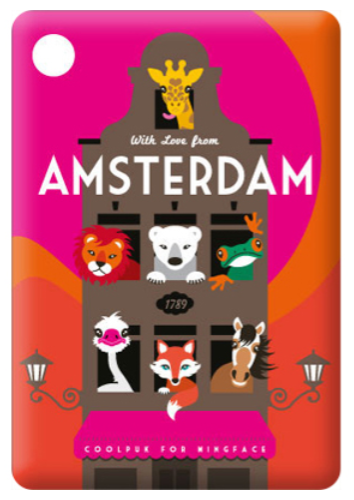 Magnet Amsterdam Animal Canal House