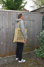 Load image into Gallery viewer, Totebag Recycled Army Canvas