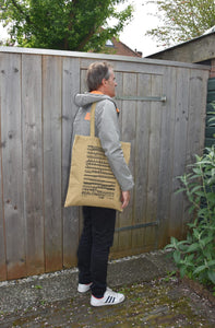 Totebag Recycled Army Canvas