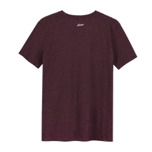 Load image into Gallery viewer, Octopus Bordo Glow in the Dark - Loenatix Organic Fairtrade T-shirt Animal Print T-shirt color Bordeaux Backside