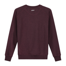 Load image into Gallery viewer, Octopus Bordo Glow in the Dark Sweater - Loenatix Organic Fairtrade Sweater color Bordeaux Backside