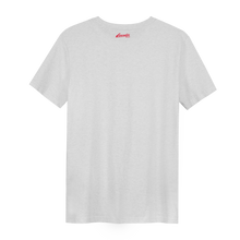 Load image into Gallery viewer, XXX Amsterdam Cream White (Red) - Loenatix Organic Fairtrade T-shirt color Cream White Backside