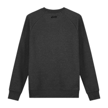 Load image into Gallery viewer, XXX Amsterdam Dark Heather Grey (Black) - Loenatix Fairtrade Sweater Amsterdam Sweater color Dark Heather Grey Backside