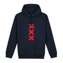 Load image into Gallery viewer, XXX Amsterdam Navy (Burgundy) - Hoodie