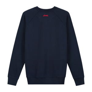 XXX Amsterdam Navy (Red) Sweater - Backside Sweater