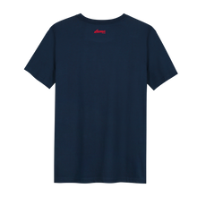 Load image into Gallery viewer, XXX Amsterdam Navy (Red) T-shirt - Backside T-shirt
