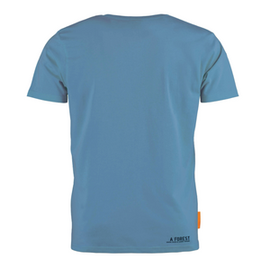 Okimono A Forest Blue Backside T-shirt