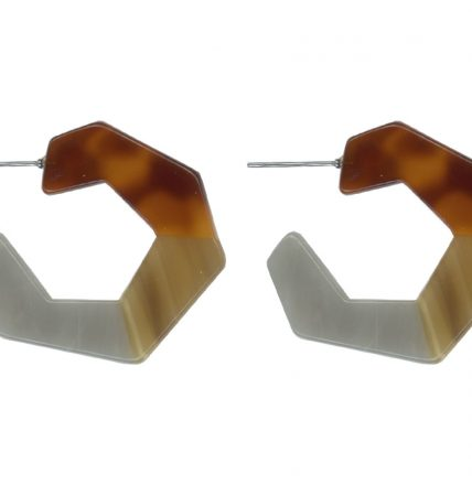 big-metal-zori-resin-3-tone-hexagon-earrings