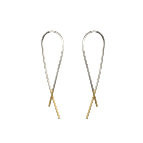 one-eight-silver-crossover-arch-earrings
