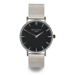 Mr Beaumont Silver Mesh Watch