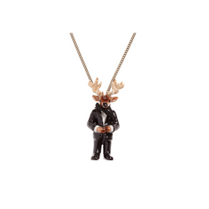 And Mary Mr Stag Necklace