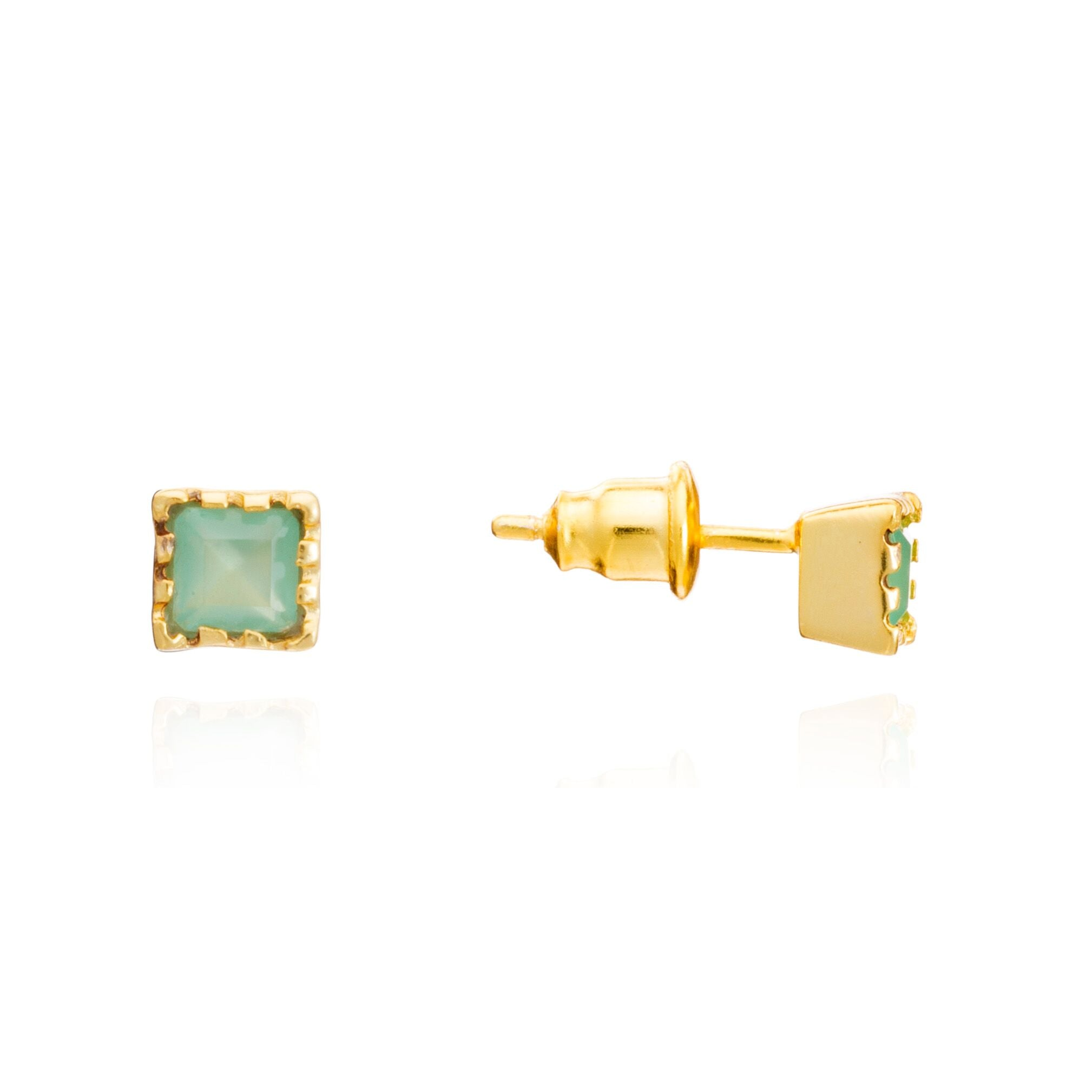 azuni-aqua-chalcedony-mosaic-stud-earrings