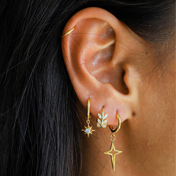 Lillys Amsterdam Roxi Star Earrings