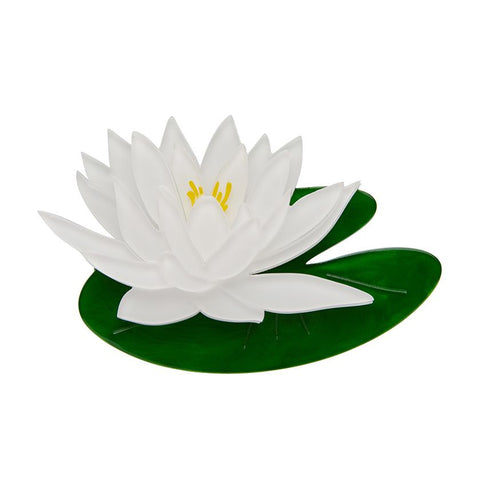 Erstwilder Enlightened Waters, Water Lily Brooch