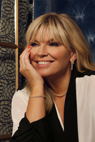 Kate Thornton Bibi Bijoux Gold Tennis bracelet