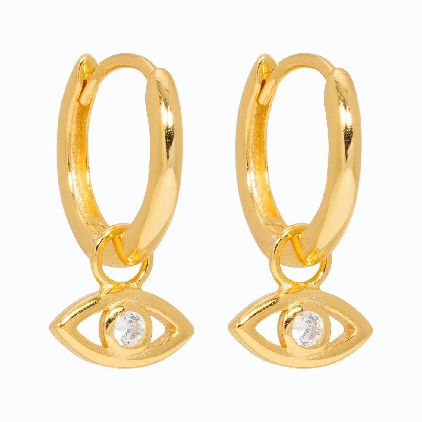 Lillys Amsterdam Gold Chico Huggy Hoop Earrings