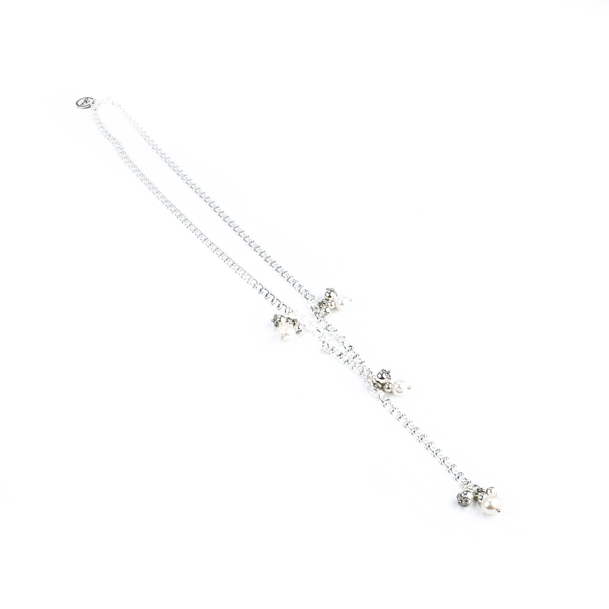 Bibi Bijoux Long Pearl necklace.