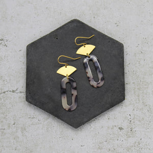 Mara Acrylic drop earrings
