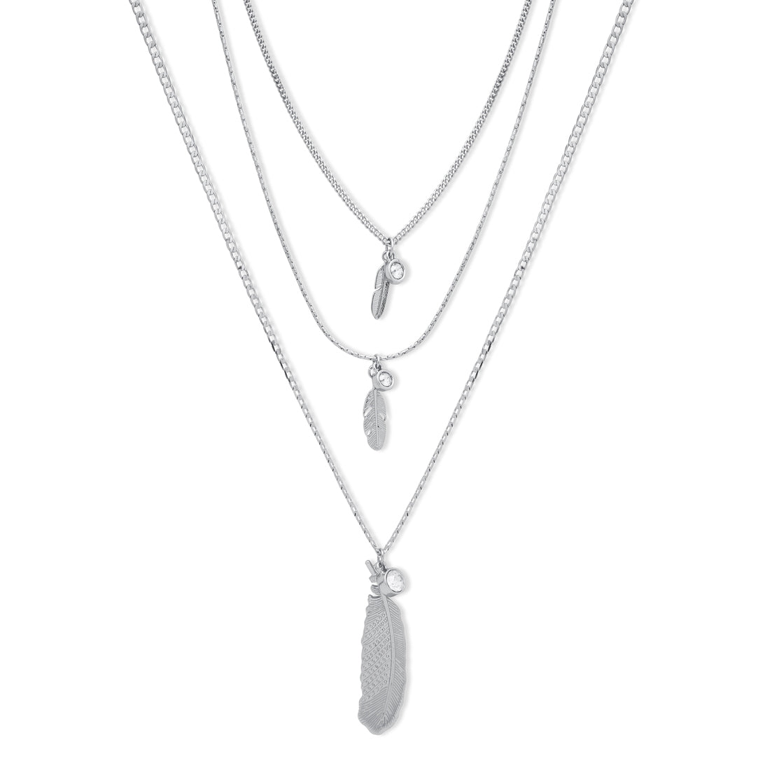 bibi-bijoux-long-triple-silver-feather-necklace