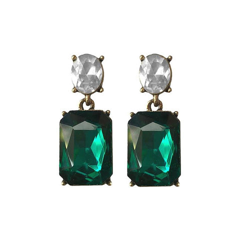 last-true-angel-dark-green-stud-earrings