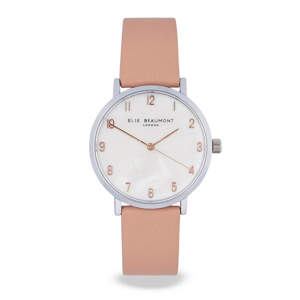 Elie Beaumont Fitzrovia Nude watch - Piccadilly Lily