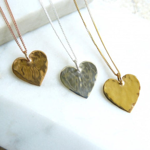 lime-tree-design-gold-hammered-heart-necklace
