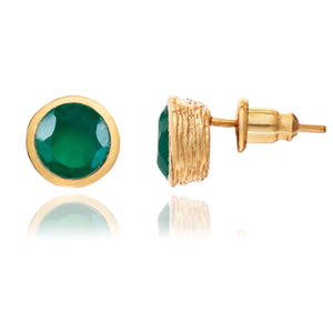azuni-green-onyx-iona-stud-earrings