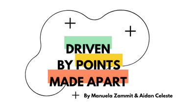 Driven by Points Made Apart. A collaborative artistic project to bypass the pandemic.