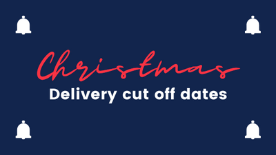 Delivery in time for Christmas. Check cut off dates for orders.