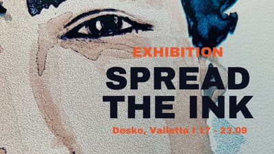 Happening now: Spread the Ink Exhibition
