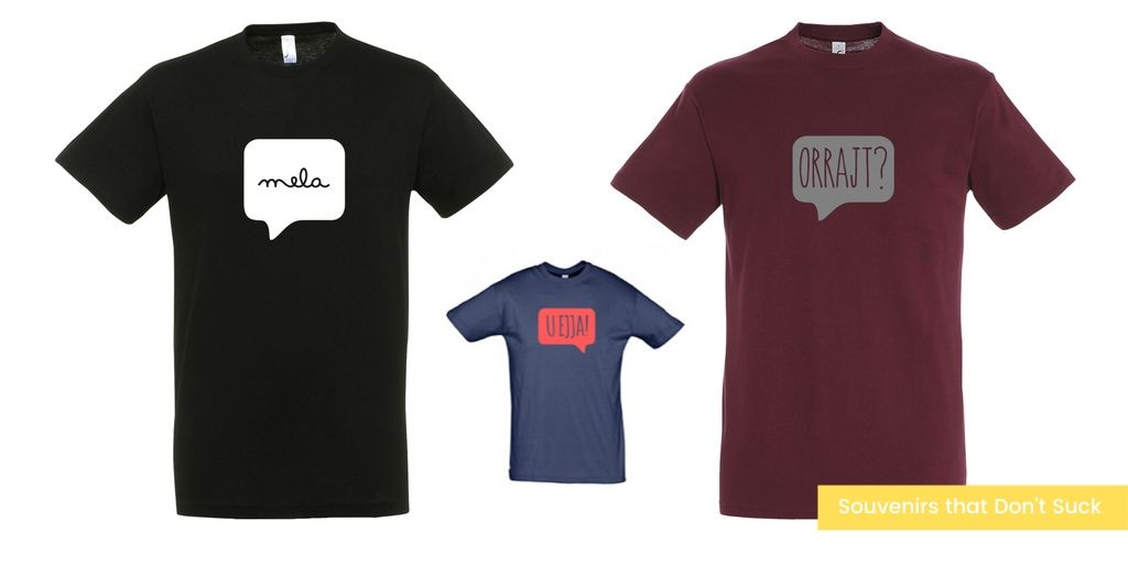 Souvenirs that Don't Suck speak maltese tshirt il-lokal gift guide