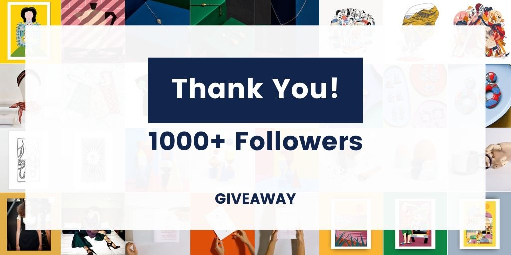 Thank you giveaway instagram followers
