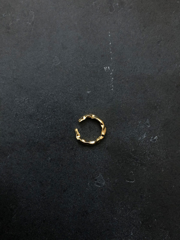 BOLD RING 18K GOLD PLATED