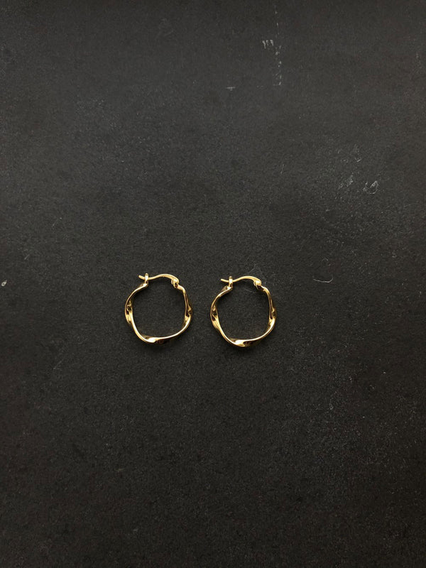 FINE EARRINGS 18K GOLD PLATED